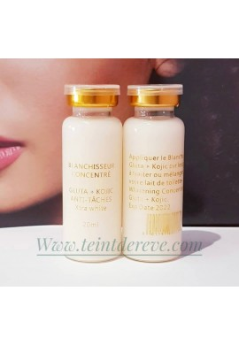 BLANCHISSEUR  CONCENTRE gluta,kojic